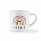 personalised children's rainbow mug