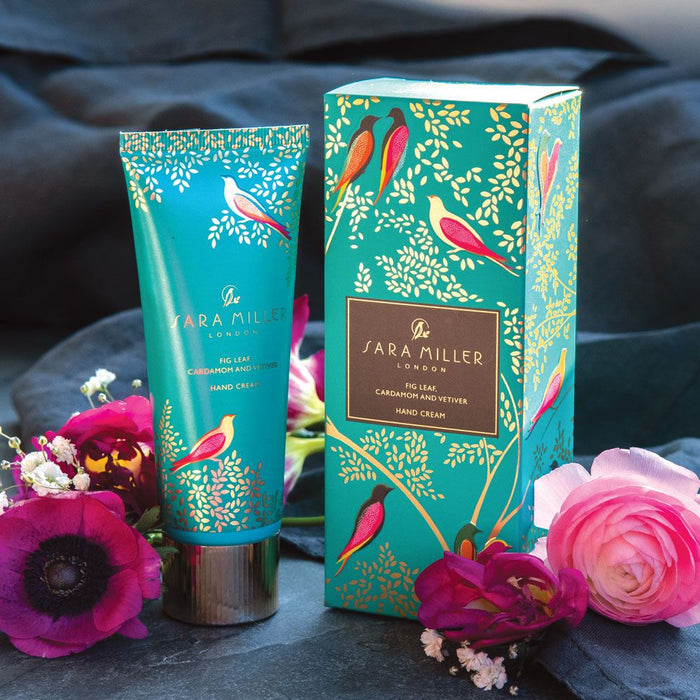 Sara Miller Fig Leaf, Cardamon & Vetiver Hand Cream