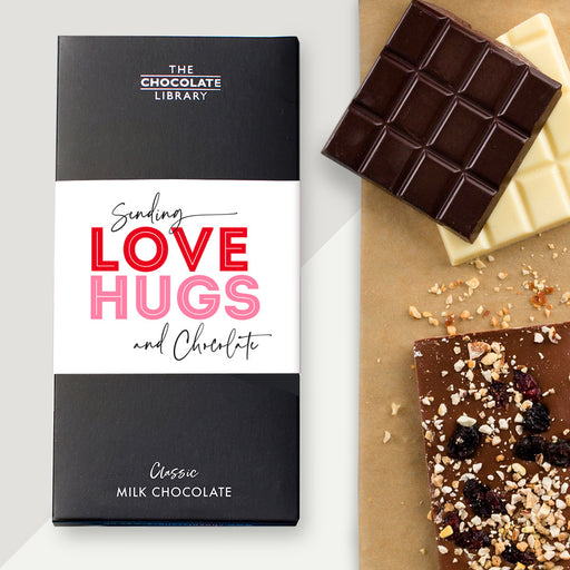 Sending Love, Hugs And Chocolate Bar