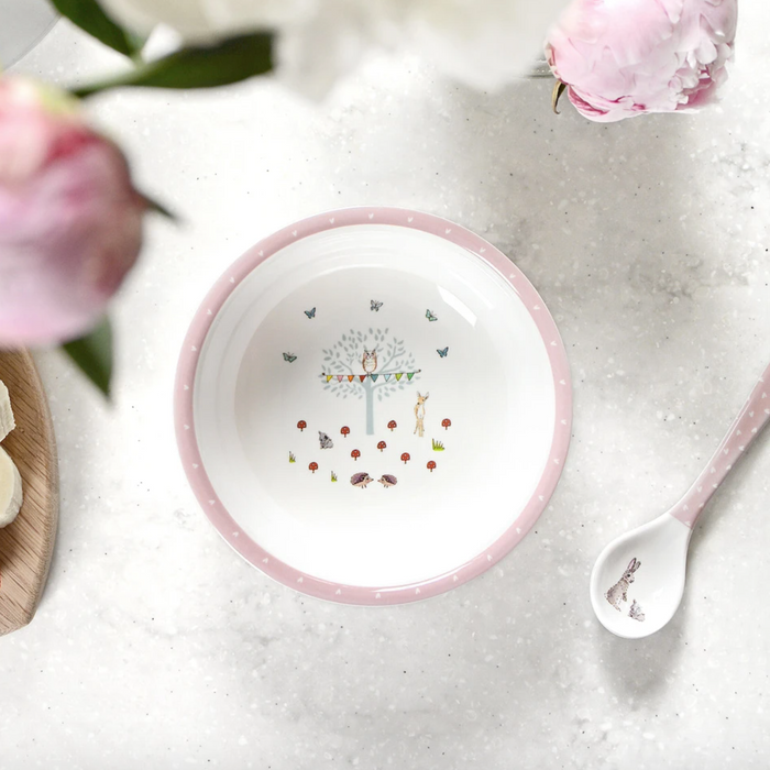 Sophie Allport Woodland Party Bowl and Spoon set