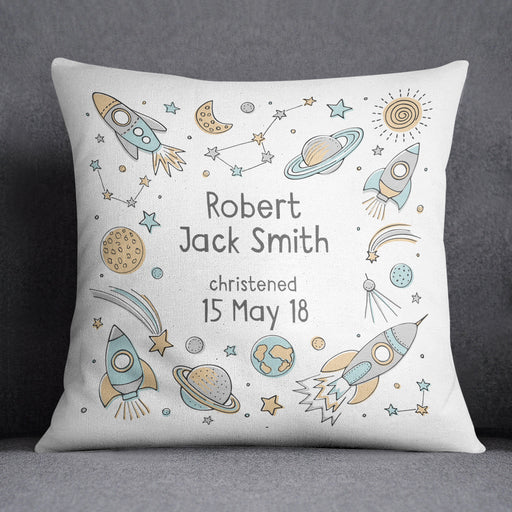 Personalised space cushion