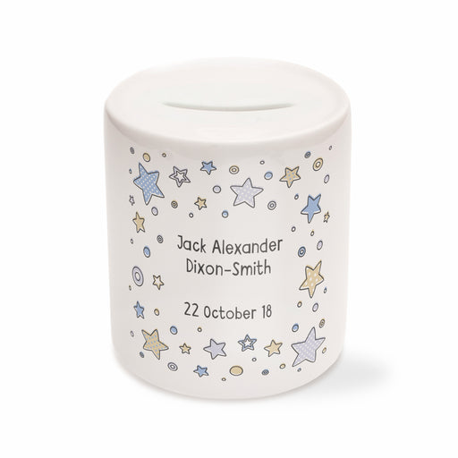Children's Personalised Star Money Box