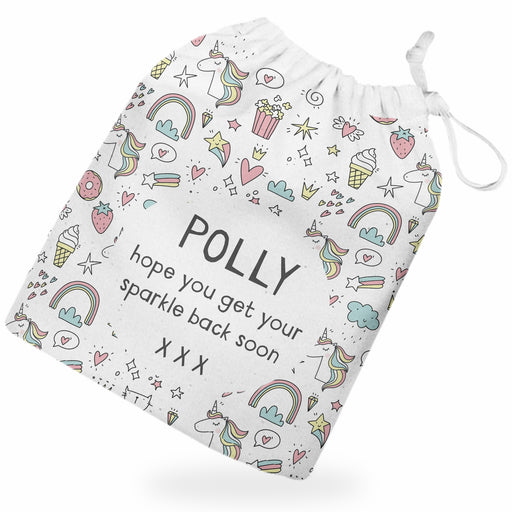Personalised Unicorn Gift Bag