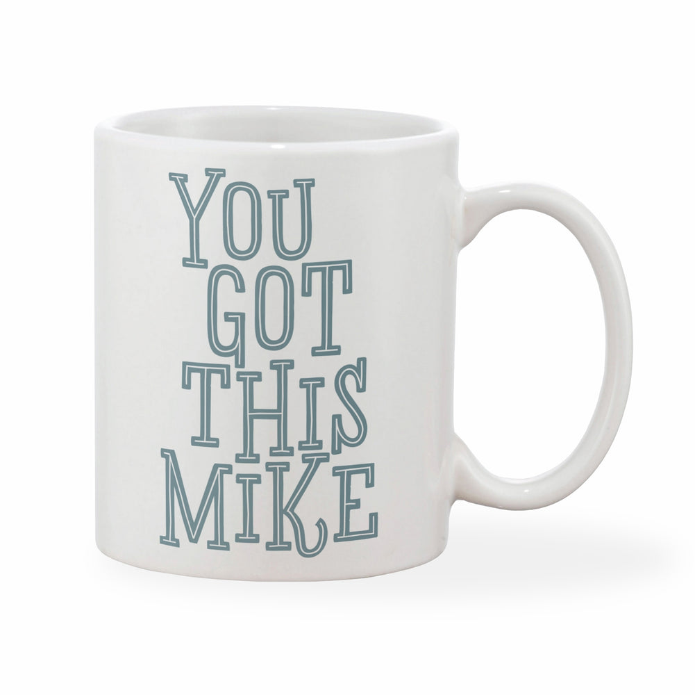 You Got This Personalised Name Mug (Pink, Blue or Grey)