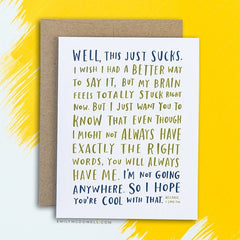 Empathy Cards By Emily Mcdowell Not Another Bunch Of Flowers