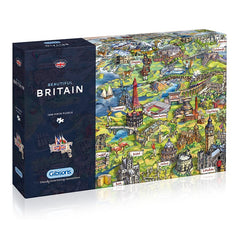 Beautiful Britain Puzzle