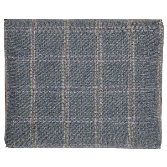 Blue Tweed Lap Tray