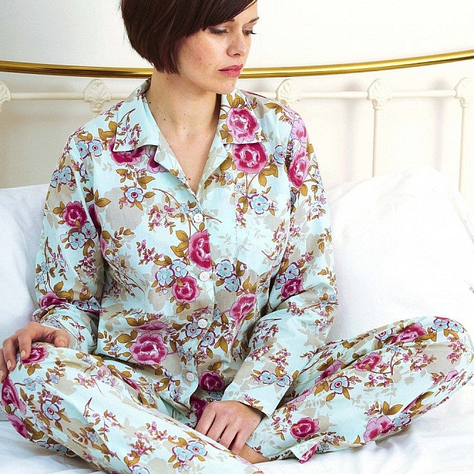 Caro London Blue Beautiful Pyjamas