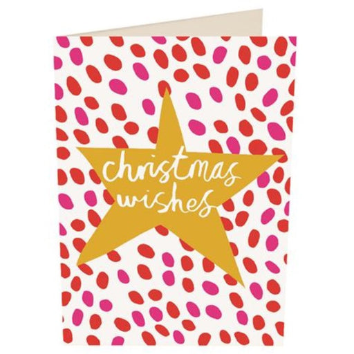 'Christmas Wishes Star' Christmas Card