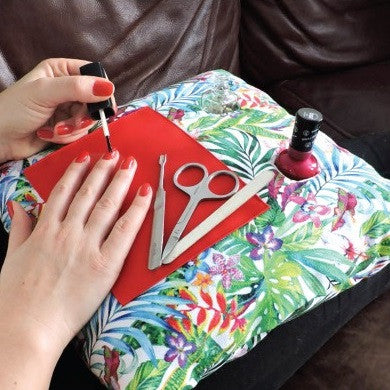 Coz-E-Nailbar Manicure Cushion - Tropical Fern