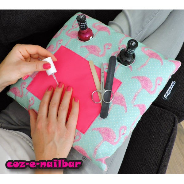 Coz-E-Nailbar Manicure Cushion - Flamingo
