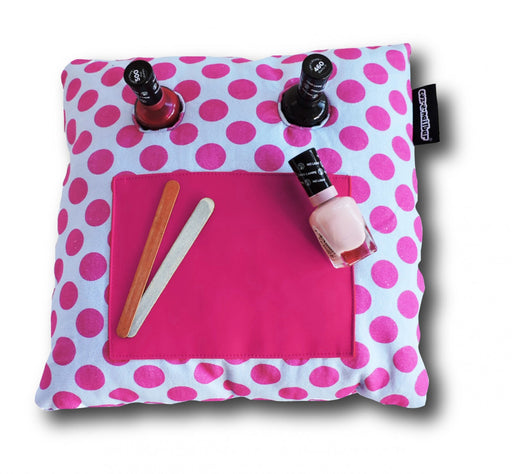 Coz-E-Nailbar Manicure Cushion - Pink Spot