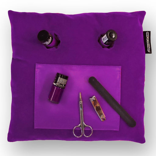 Coz-E-Nailbar Manicure Cushion - Purple Velvet
