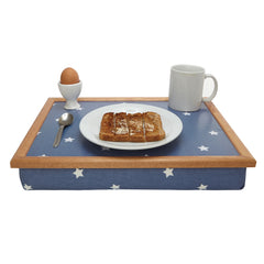 Dark Blue Star Lap Tray