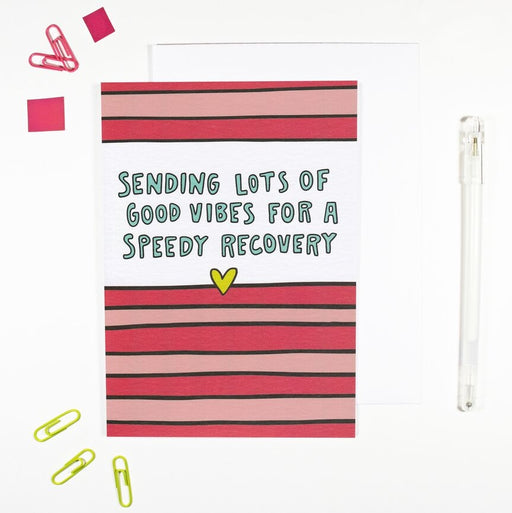 Vibes For A Speedy Recovery Card