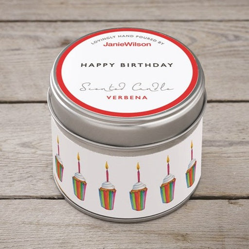 Happy Birthday Cupcakes Scented Candle
