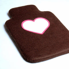 Heart Hot Water Bottle Cover