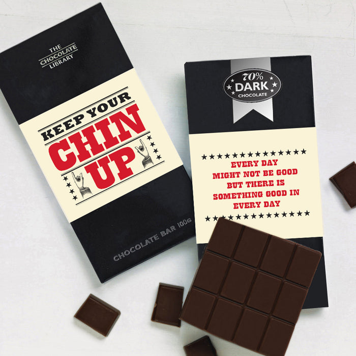 Luxury Belgian Chocolate Message Bars - Various Designs