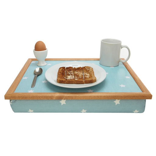 Light Blue Star Lap Tray