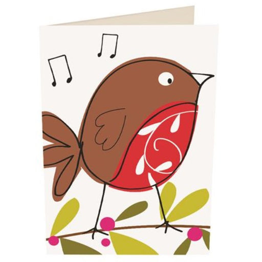 'Blank Robin' Christmas Card