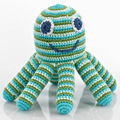 fairtrade crocheted baby toy
