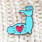 Stay Strong Encouragement Enamel Pin