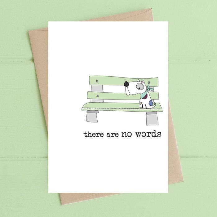 """There Are No Words"" Card"