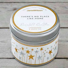 There's No Place Like Home Scented Candle Tin