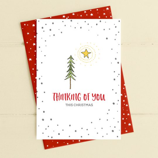 'Thinking Of You This Christmas' Card