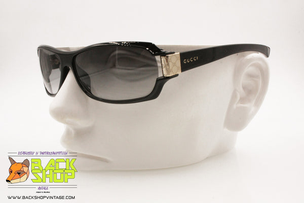 afbe51a57b44 GUCCI GG2547/S PL4 Sunglasses, Black mask chiseled end pieces, New Old Stock