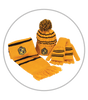 Winter Accessories Set - Hufflepuff