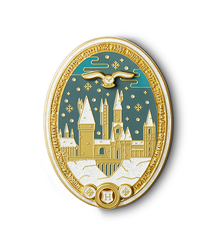 Christmas at Hogwarts™ Enamel Pin