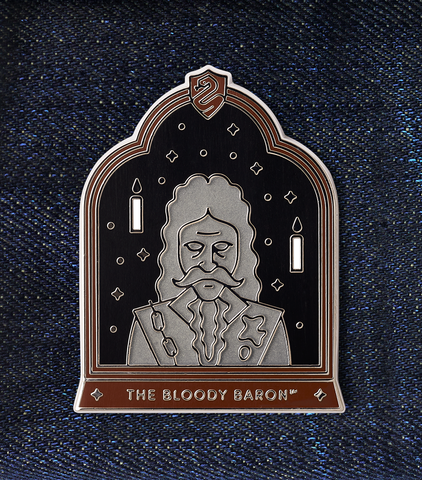 The Bloody Baron Enamel Pin