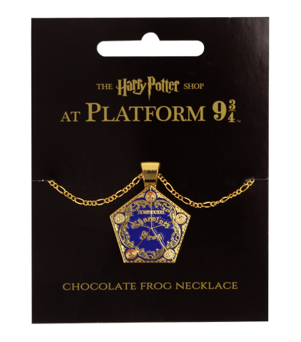Chocolate Frog Pendant Necklace