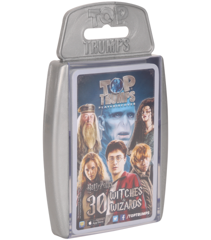30 Greatest Witches & Wizards Top Trumps