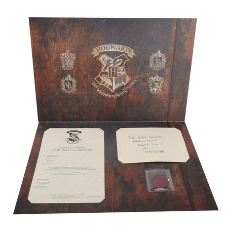 Hogwarts Acceptance Letter in the Presentation Wallet