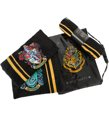 Hogwarts Crest Towel and Swim Bag Bundle