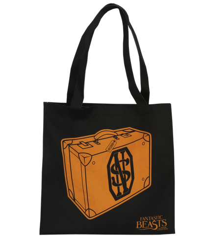 Fantastic Beasts Black Suitcase Tote Bag