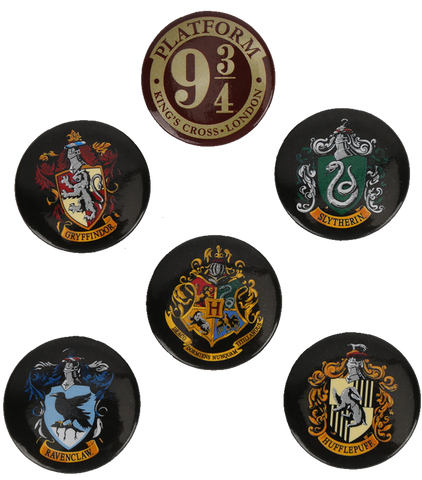 Button Badges Crest
