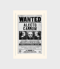 Alecto Carrow Wanted Poster Print
