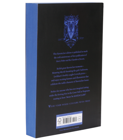 Harry Potter and the Chamber of Secrets – 20th Anniversary Ravenclaw Edition (Paperback)