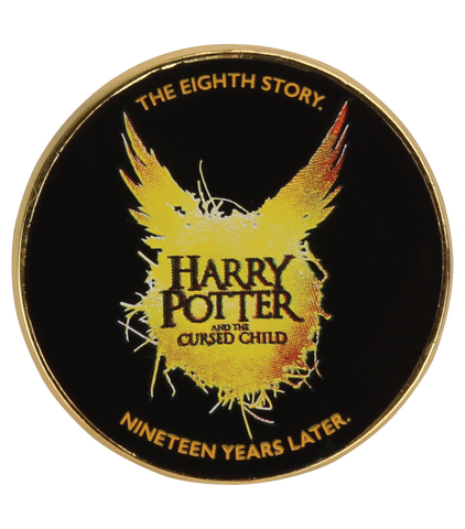 Harry Potter and the Cursed Child Pin Badge - Black