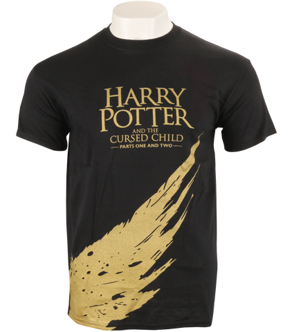 Harry Potter and the Cursed Child Gold T-Shirt