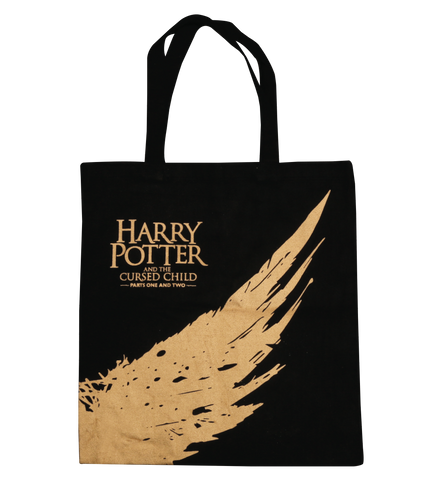 Harry Potter and the Cursed Child Gold Wing Tote Bag