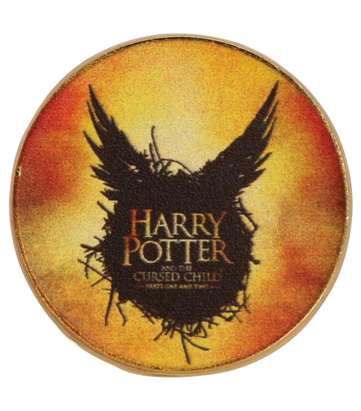 Harry Potter And The Cursed Child Pin Badge Yellow