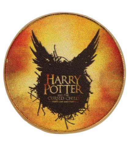 Harry Potter and the Cursed Child Pin Badge - Yellow