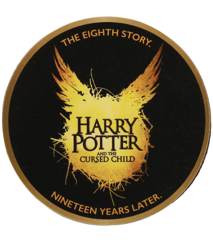 Harry Potter and the Cursed Child Circle Magnet