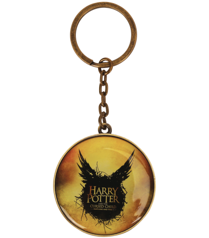 Harry Potter and the Cursed Child Yellow Keyring