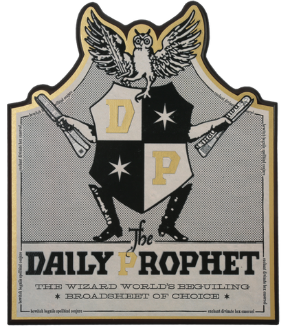 The Daily Prophet Wall Plaque