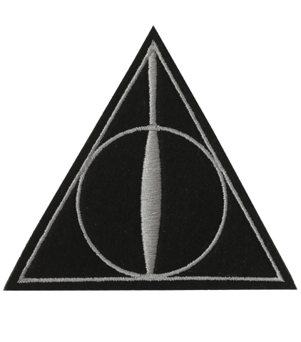 Deathly Hallows Embroidered Patch